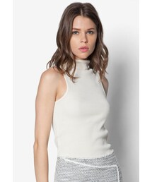 TOPSHOP(トップショップ)の「High Neck Ribbed Funnel Top(トップス)」