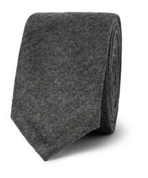 Thom Browne「Slim Wool-Flannel Tie(Jewelry)」