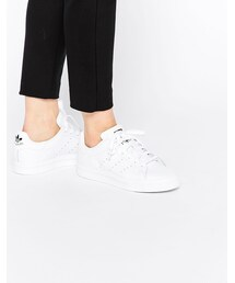 adidas「adidas Originals Stan Smith All Over White Sneakers(Sneakers)」