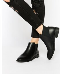 Monki「Monki Clean Ankle Boots(Boots)」