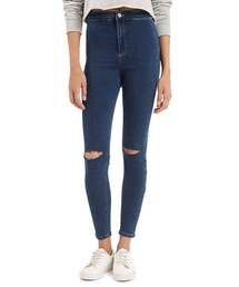 Topshop「Topshop Moto 'Joni' Ripped High Rise Skinny Jeans (Regular & Short)(Denim pants)」