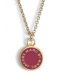 Marc by Marc Jacobs「MARC BY MARC JACOBS Logo Pendant Necklace(Necklace)」