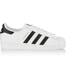 adidas「adidas Originals Adidas Originals Superstar Foundation Textured-Leather Sneakers(Sneakers)」