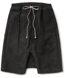 Rick Owens「Rick Owens Drop-Crotch Nubuck Shorts(Pants)」