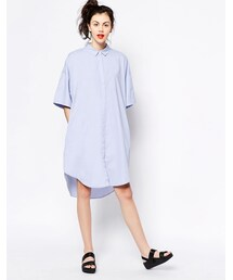 Monki「Monki Shirt Dress(One piece dress)」