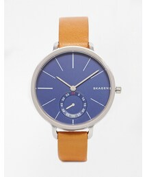 Skagen「Skagen Tan Leather Hagen Watch(Watch)」