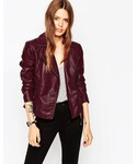 Asos | ASOS COLLECTION ASOS Ultimate Biker With Stitch Detail(Riders jacket)