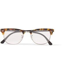 Ray-Ban「Ray-Ban Clubmaster Acetate and Metal Optical Glasses(Glasses)」