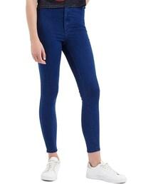 Topshop「Topshop Moto 'Joni' Crop Skinny Jeans (Blue)(Denim pants)」