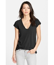 James Perse「James Perse High Gauge Jersey Deep V Tee(T Shirts)」