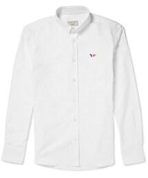 MAISON KITSUNÉ「Maison Kitsuné Cotton Oxford Shirt(Shirts)」