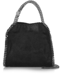 Stella McCartney「Stella McCartney Stella Mccartney The Falabella Mini Faux Brushed-Leather Tote(Tote)」