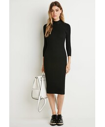 Forever 21「FOREVER 21 Ribbed Knit Sweater Dress(One piece dress)」
