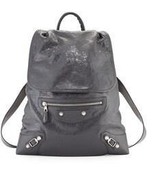 Balenciaga「Balenciaga Giant Traveler's Lambskin Backpack, Gray(Backpack)」