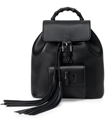 Gucci「Gucci Bamboo Small Leather Backpack, Black(Backpack)」