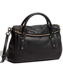 Kate Spade(-)の「Kate Spade New York 'cobble Hill - Leslie Small' Leather Satchel(ショルダーバッグ)」
