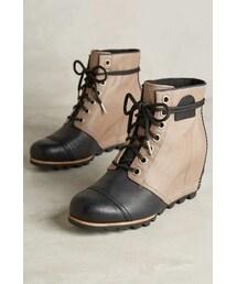 Sorel「Sorel 1964 Premium Wedge Boots Khaki 8 Wedges(Boots)」