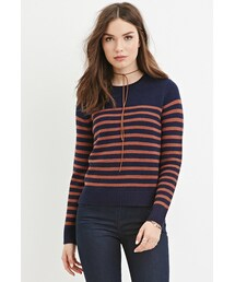 Forever 21「FOREVER 21 Classic Striped Sweater(Knitwear)」