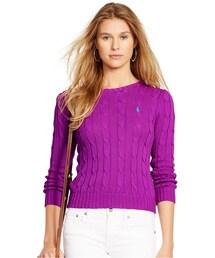 Polo Ralph Lauren「Polo Ralph Lauren Cable-Knit Cotton Sweater(Knitwear)」
