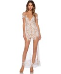 For Love & Lemons | For Love & Lemons Luau Maxi Dress(One piece dress)