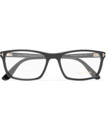 Tom Ford「Tom Ford Square-Frame Acetate Optical Glasses(Glasses)」
