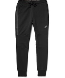 Nike「Nike Slim-Fit Cotton-Blend Tech-Fleece Sweatpants(Pants)」