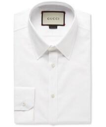 Gucci「Gucci White Cotton-Poplin Shirt(Shirts)」