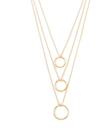 Forever 21「FOREVER 21 Layered Circle Necklace(Necklace)」