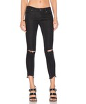 Free People | Free People Mid Rise Skinny Destroyed Ankle Jean(Denim pants)
