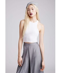 Forever 21「FOREVER 21 Stretch-Knit Racerback Tank(Tank tops)」