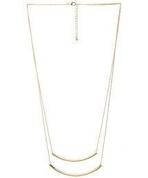 Forever 21「FOREVER 21 Layered Tube Bead Necklace(Necklace)」