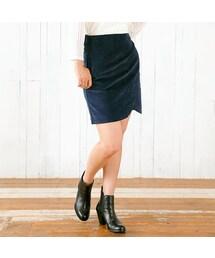 flower(フラワー)の「corduroy petal skirt ~コーデュロイペタルスカート(その他)」