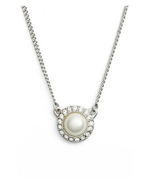 Givenchygivenchy faux pearl pendant necklace givenchy faux pearl pendant necklace mozeypictures Gallery
