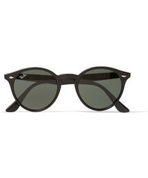 Ray-Ban「Ray-Ban Round-Frame Acetate Sunglasses(Sunglasses)」