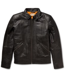 Nudie Jeans「Nudie Jeans Johnny Leather Jacket(Riders jacket)」