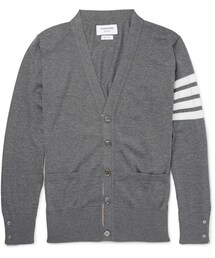 Thom Browne「Thom Browne Striped Wool Cardigan(Cardigan)」