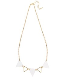 WEGO(ウィゴー)の「Acrylic x Metal Triangle Necklace(アクセサリー)」