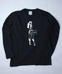 Palette TOKYO(パレットトーキョー)の「OLIVIA HARPAR L/S(BLACK)(Tシャツ・カットソー)」