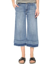 Current/Elliott「Current/Elliott The Cropped Hampden Jeans(Denim pants)」