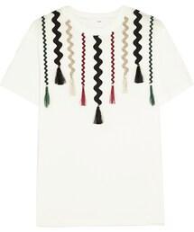 Toga「Toga Appliquéd Cotton-Jersey T-Shirt(T Shirts)」