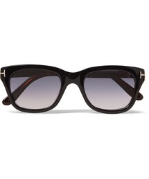 Tom Ford「Tom Ford Square-Frame Acetate Polarised Sunglasses(Sunglasses)」