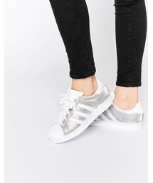 adidas「adidas Originals Silver Metallic Superstar Sneakers(Sneakers)」