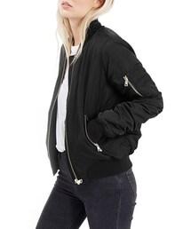 Topshop「Topshop MA1 Bomber Jacket (Regular & Petite)(Outerwear)」