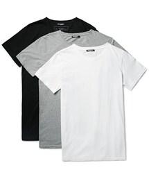 Balmain「Balmain Three-Pack Slim-Fit Distressed Cotton-Jersey T-Shirts(T Shirts)」