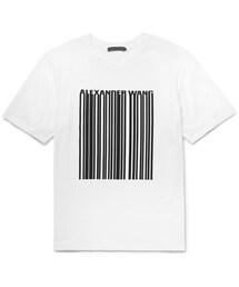 Alexander Wang「Alexander Wang Printed Cotton-Jersey T-Shirt(T Shirts)」