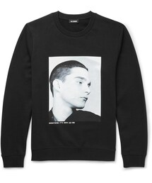 Raf Simons「Raf Simons Isolated Heroes Oversized Printed Cotton Sweatshirt(Sweatshirt)」