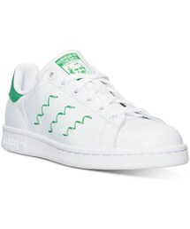 adidas「adidas Women's Stan Smith Squiggly Casual Sneakers from Finish Line(Sneakers)」