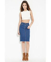 Forever 21「FOREVER 21 contemporary denim skirt(Skirt)」