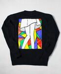 Palette TOKYO(パレットトーキョー)の「VETRATA LADY CREW SWEAT(BLACK)(Tシャツ・カットソー)」