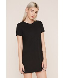 Forever 21「FOREVER 21 cuffed-sleeve t-shirt dress(One piece dress)」